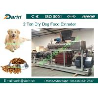 Buy Double screw Automatic dry Pet Food Extruder production machine at wholesale prices