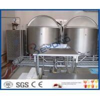 China Automatic Control Ice Cream Processing Equipment 380V 50hz 1 Year Warranty on sale