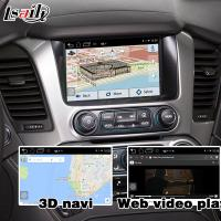 Buy Android GPS navigation box interface for Chevrolet Suburban Tahoe with rearview WiFi video mirror link at wholesale prices