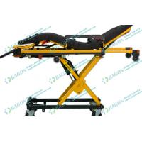 China Multifunctional automatic loading ambulance stretcher gurney with varied heights on sale