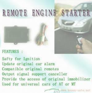 Quality Remote Engine Starter for sale