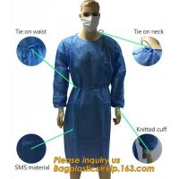 Children Patient Gown/Surgical Gown With Short Sleeve, Disposable Nonwoven