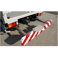 Quality Aluminum Alloy reflective film Traffic Mounted Attenuator Retractable for sale