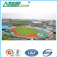 Quality Full PU Glue Rubber Running Track Plus SBR Particle Mixture For Playground for sale