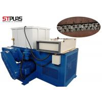 China Waste Single Shaft Plastic Shredder Machine With D2 , 15kw - 110kw Power on sale