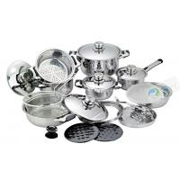 21Piece Induction Cookware set For Induction Cooker,stainless steel cookware set