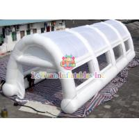 Buy cheap White Arches Inflatable Air / Party / Camping Tent Flameproof Non - Toxic product