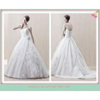 China Beaded lace applique ball gown wedding dress NWD1676 on sale