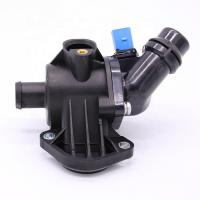 Quality Complete Thermostat Housing Assembly Audi Car Engine Parts With Sensor 06b121111k for sale
