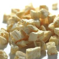 Quality Great quality healthy snack dried pineapple dices for sale
