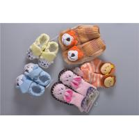 Quality Knitted Slip Resistant Cotton Baby Socks For Keep Warm Custom Made Size for sale