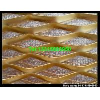 Quality Colorful exterior decorative expaned metal mesh for sale