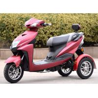 Quality None Fall 3 Wheel Scooter Motorcycle 60v 800w Max Speed 50 - 60km / H for sale