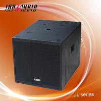 China 18 inch 800W RMS Wooden Box Speaker , 4OHM Subwoofer Speakers on sale
