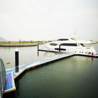 China Marina Equipment Aluminum Floating Docks 0.2mm-15mm Thickness Anti Collision on sale