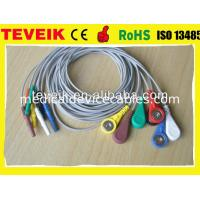 Buy cheap DIN 1.5 Holter ECG Cable For Patient Monitor 7 leads wire from wholesalers
