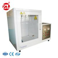 China Auto - Ignition & Automatic Timing Safety Helmet Testing Machine / Fire Retardant Tester on sale