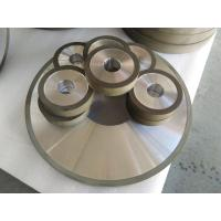 Quality PCD Resin Bonded Diamond Grinding Wheels For Edge Grinding Machine High Precision for sale