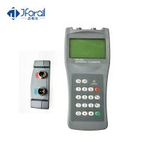 Quality Small Size Handheld Portable Flow Meter , Ultrasonic Flow Sensor With Batteries Powerd for sale