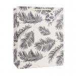 Quality Reusable plant design art paper bag cash on sale wholesale for sale