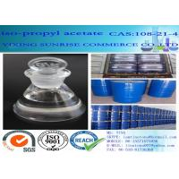 Quality Isopropyl Acetate Chemical Solvents Dehydrating Agent CAS 108-21-4 C5H10O2 for sale