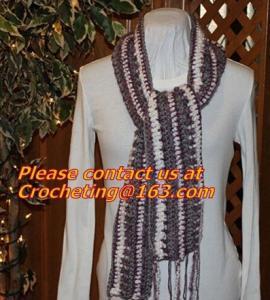 Quality 100%acrylic jacquard knitted scarf,fashion hand knitting scarf, knitted scarf hat and glov for sale