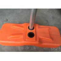 Quality Melbourne Budget Temporary Fencing Panels Powder Coated High Visibility Orange color 2.1mx2.4m Width for sale