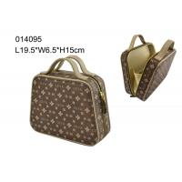 Buy cheap Professional Funky PU Cosmetic Bag Large Toiletry Case Irregularity Shape product