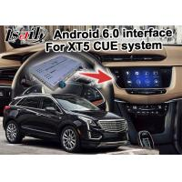 Quality GPS Android navigation box video interface for Cadillac XT5 video for sale