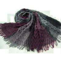 Quality Ruffly Polyester Scarf (HP-C2700) for sale