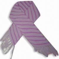 Quality Scarf, Made of 100% Acrylic for sale