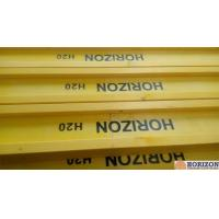 Quality Waterproof Treated H20 Timber Beam , Yellow Timber H BeamFor Slab Formwork for sale
