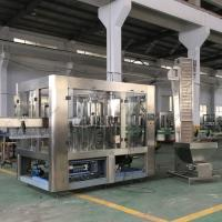 Buy cheap Glass Bottle Automatic Water Bottling MachineFor Soft Drink / Hot Drink / Gas from wholesalers