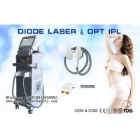 Buy cheap 2 In 1 810nm Diode Laser Hair Removal Machine / OPT SHR IPL Hair Removal Equipment from wholesalers
