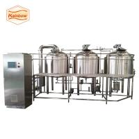 Quality Small beer brewing equipment high quality beer equipment 500L 1000l for sale