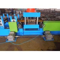 China Freeway Crash Barrier Roll Forming Machine 25m Every Min Front Hydraulic Punching on sale