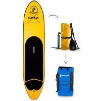 Quality Drop Stitch PVC Material SUP Inflatable Paddle Boards 3pcs Paddle Included for sale