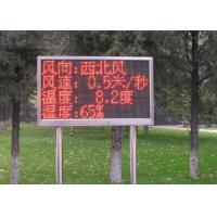 Buy cheap Fix Installation Red Single Color LED Display Auto Testing Asynchronous Card from wholesalers