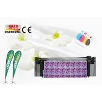 China 1800dpi Max Resolution Fabric Plotter With 1440 Dpi / Mesh Fabric Printing System on sale