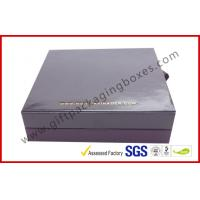 China Embossed Paper Jewellry Gift Boxes with Golden Aluminum Foil Bracelet Boxes on sale