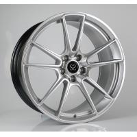 Quality Porsche Forged Wheels 19 inch hyper silver aluminum alloy car wheel rims factory china for sale