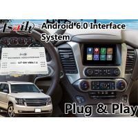 Quality Chevrolet Tahoe Android 6.0 Auto Interface for MyLink System 2015-2018 , Waze GPS Navigation for sale