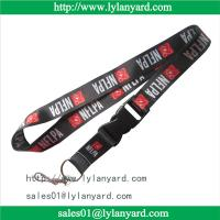 Quality Customized Dye Sublimation Printing Heat Lanyard for sale