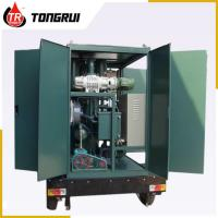 Quality Vacuum Transformer Oil Purifier 30L/min Double Stage ZJA Easy Handling for sale