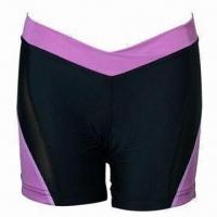 Quality Yoga Pants, Made of 80% Nylon, 20% Spandex, Anti-bacterial/-UV, Breathable and Contrast for sale