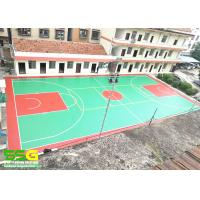 Quality Wear Resistant Basketball Sport Court Surface , acrylic sports surfaces for sale
