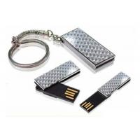 Buy cheap 1GB, 2GB, 4GB, 8GB Metallic / Plastic Branded USB Flash Drives SUP39 With Mirrored Surface product