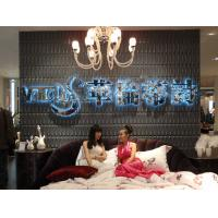 Quality Thermoform Composite PVC Wall Stencil 3D Wallpaper for Living Room / Office / Club for sale