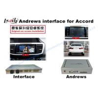 Quality Honda Accord 9 Upgrade Original Video interface and Android GPS Navigation box for sale