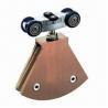 Buy cheap Noiseless hang wheels for glass door from wholesalers